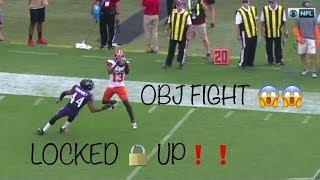 Odell Beckham vs Marlon Humphrey FIGHT + Highlights (2019) WR vs CB