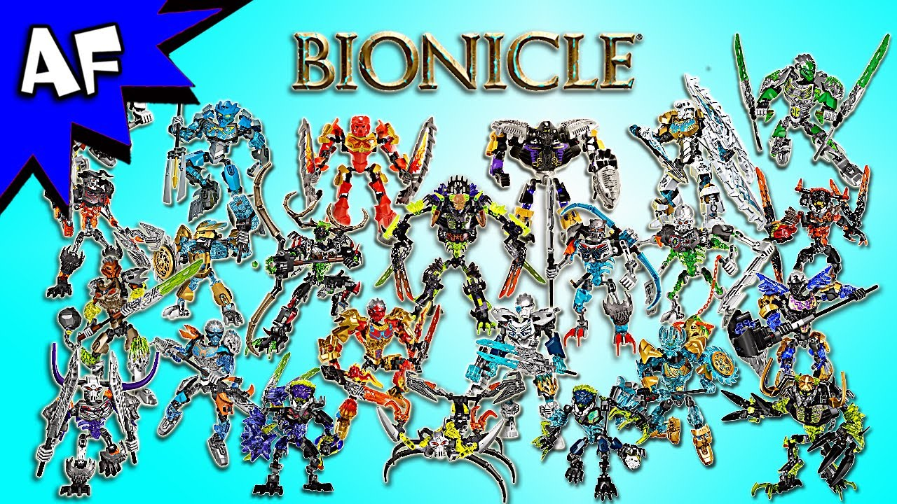 Lego Bionicle 2015 And 2016 Collection Skull Scorpio 70794
