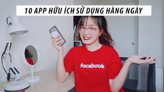 10 ỨNG DỤNG HỮU ÍCH ĐỂ CÓ MỘT NGÀY HIỆU QUẢ | Sunhuyn