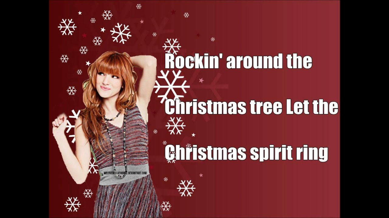Bella Thorne- Rockin' Around The Christmas Tree (Lyrics