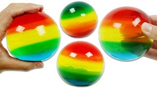 How to Make Rainbow Gummy Spheres | Fun & Easy DIY Jello Desserts to Try at Home!