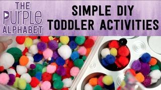 SIMPLE TODDLER DIY ACTIVITIES