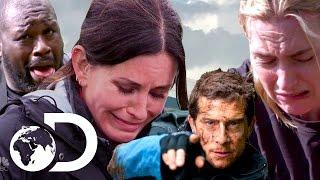 Celebrities in Danger | Bear Grylls Best Of