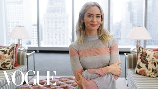 73 Questions With Emily Blunt | Vogue