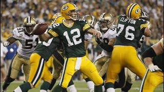 "Green Bay vs. New Orleans ""Opening Night Shootout"" (2011 Week 1) Green Bay's Greatest Games"
