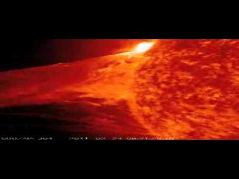 La NASA capta un monstruosa llamarada solar