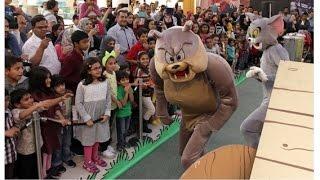 Tom & Jerry at Dubai Shopping Festival