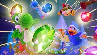 Yoshi's Crafted World Walkthrough - World 1