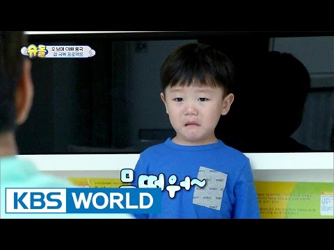 He always makes fun of poor Daebak! [The Return of Superman / 2017.04.30]