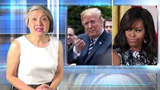 Cựu đệ nhất phu nhân Michelle Obama chỉ trích TT Donald Trump