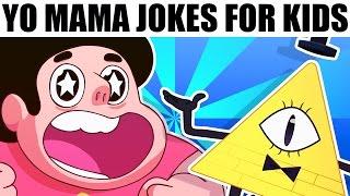 YO MAMA FOR KIDS! Cartoon Characters ft. Steven Universe, Gravity Falls, Spongebob and more!