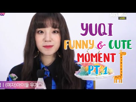 YUQI (G)i-dle 우기 Funny and Cute Moment part 1