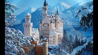 Neuschwanstein and Hohenschwangau Castles . DJI Phantom 3 Pro. 4K  Video-Best of Europe
