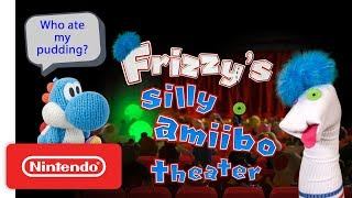 Yoshi's Pudding Mystery - Ep. 1 - Frizzy's Silly amiibo Theater | Play Nintendo