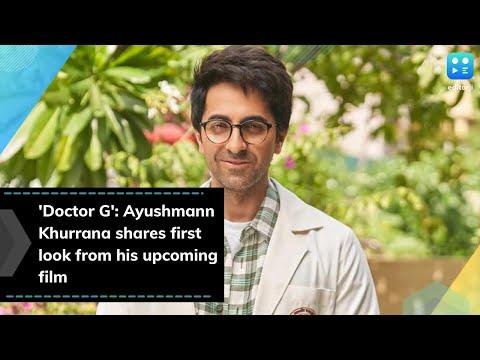 'Doctor G' first look: Ayushmann Khurrana looks goofy in new avatar, Rakul in female lead