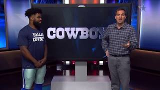 Tale of the Tape: Ezekiel Elliott   Dallas Cowboys 2018