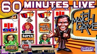 🔴 60 MINUTES LIVE ★ MATCH GAME ★ LIVE FROM THE SLOT MUSEUM