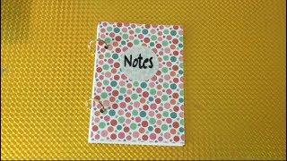 Diy Mini Notizbuch Basteln Mit Papier Heftchen Fur Schule Videos