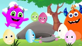 Easter Eggs | Momo Beats Cartoons | Kids Songs And Videos by Kids Channel