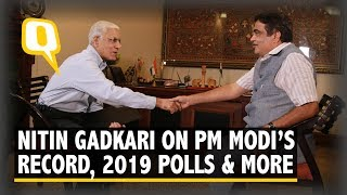 Nitin Gadkari Hails PM Modi's Leadership, Talks Tough on Pak, Trolls | The Quint