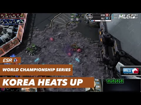World Championship Series Korea Heats Up