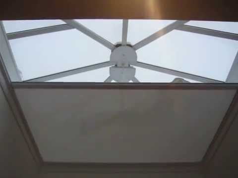 Automated Blinds For Roof Lantern Sky Lights Roof