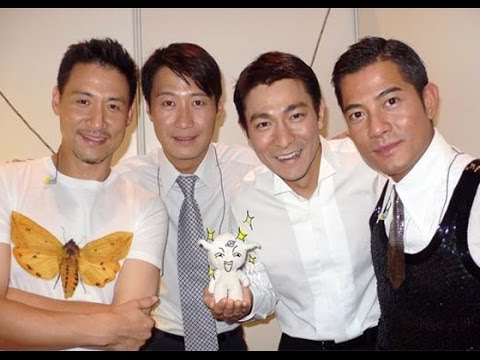 Funny Song of K-Pop & C-Pop (Andy Lau, Aaron Kwok, Jacky Cheung, Leon Lai)