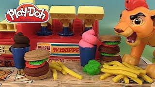 Pâte à Modeler Play Doh Burger King Menu Whopper