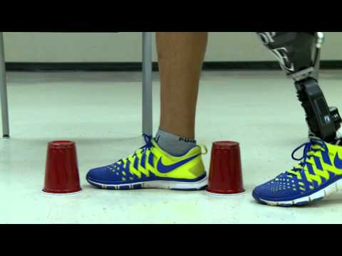 Amputees' Balance - Taking It to the Next Level: The Cup-Walking Exercise