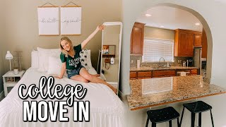 COLLEGE MOVE IN VLOG *HOUSE* | Cal Poly SLO