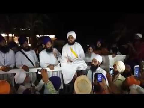 Baba Ranjit Singh Dhaddrian wale speaks after Attack