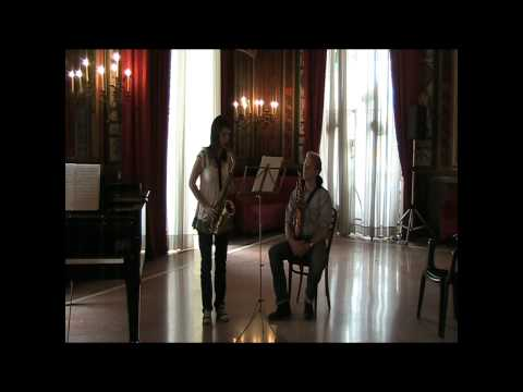 Arno Bornkamp masterclass at Casino Sociale June 28 2010 Naulais Petite Suite Latine video 1