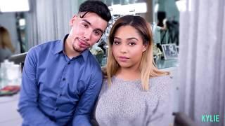 [FULL VIDEO] [HD] Kylie Jenner | Jordyn Woods Makeup Tutorial | Light Smokey Eye With Ariel TEJADA