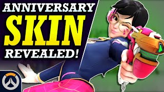 NEW D.Va LEGENDARY SKIN! | Academy D.Va Skin (Overwatch 2019 Anniversary Event)