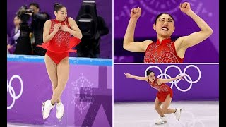 Mirai Nagasu makes history with triple axel in Olympics