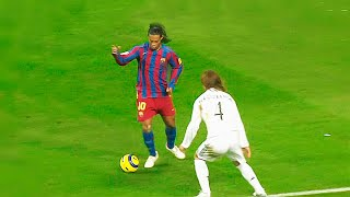 The Day Ronaldinho Destroyed Real Madrid & Getting Standing Ovation at the Santiago Bernabeu 1080i