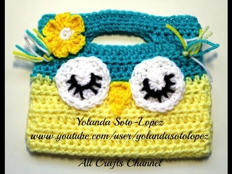 PARTE 1 BOLSA TEJIDA CON RAFIA GANCHILLO CROCHET Musica Movil ...