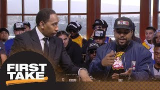 Stephen A. Smith and Ice Cube debate LeBron James joining the Lakers   First Take   ESPN