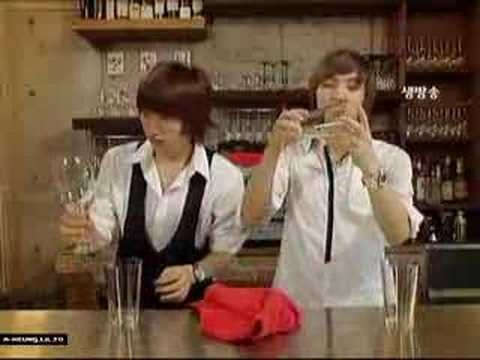 super junior-coffee prince parody(PART 1)
