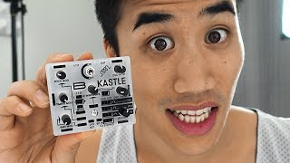 TINY LITTLE BABY SYNTHESIZER!! So tiny!! | Andrew Huang