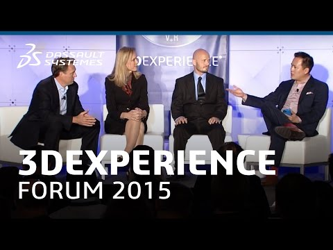 3DEXPERIENCE FORUM North America 2015: Additive Manufacturing Panel Discussion