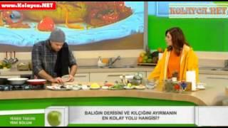 Yemek Takımı Balık Nasıl Temizlenir ve Kesilir 28.11.2013