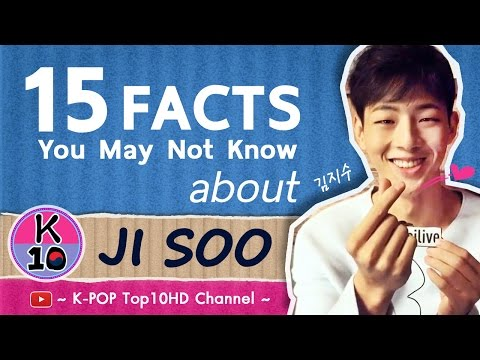 😍 15 FACTS You are may not know about JI SOO (김지수/志洙)