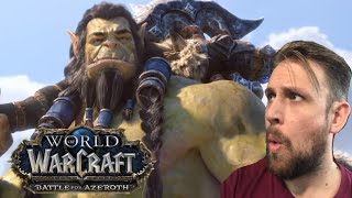 Kiwi REACTS !!! - Safe Haven Cinematic Reaction | World of Warcraft