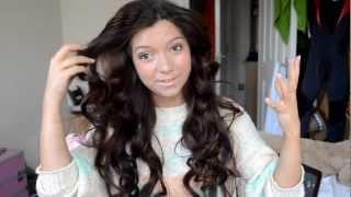 How I style my Hair: Big, Curls using Heated Rollers Tutorial