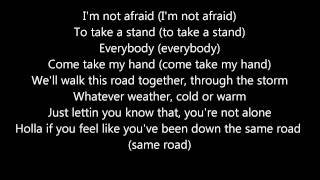 Eminem - Not Afraid Lyrics (HD)