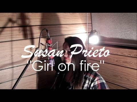 Baixar Girl on fire cover by Susan Prieto (Glee Cover)