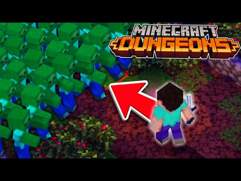 Minecraft Dungeons is TOO EASY! (NEW Minecraft Game)