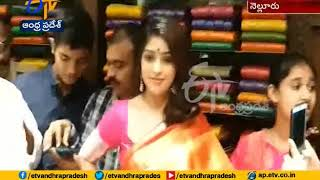 100 Days Funtion of Shopping Mall | Actress Anu Emmanuel Attends @ Nellore