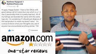 Amazon, How to Improve 1 Star Review Listing to 5 Star ?